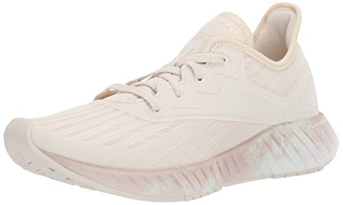 Reebok Women's FLASHFILM 2.0 Cross Trainer, Alabaster/Buff/White, 7 M US