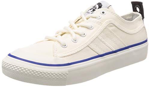 Diesel S-astico LC Logo Zapatillas Moda Hombres Blanco Zapatillas Bajas Shoes