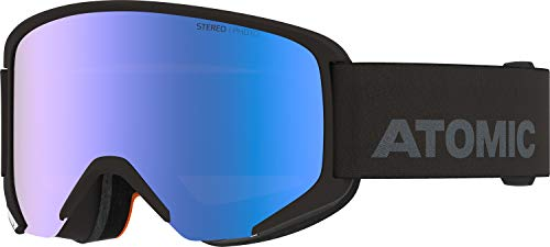 Atomic, All Mountain-Skibrille, Unisex, Medium Fit, Photochrome Scheibe, Savor Photo, Schwarz/Blau Photochromic, AN5105994