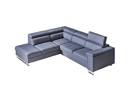 NOBOS Sectional Sleeper Sofa, Left Corner