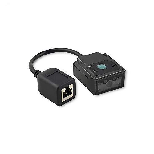 Mrz Code Reader Ms430 Passport, montaje fijo con Ir/Light y AEC   Ocr 2D Qr Barcode Scanner USB para agente de viajes y tienda libre de impuestos