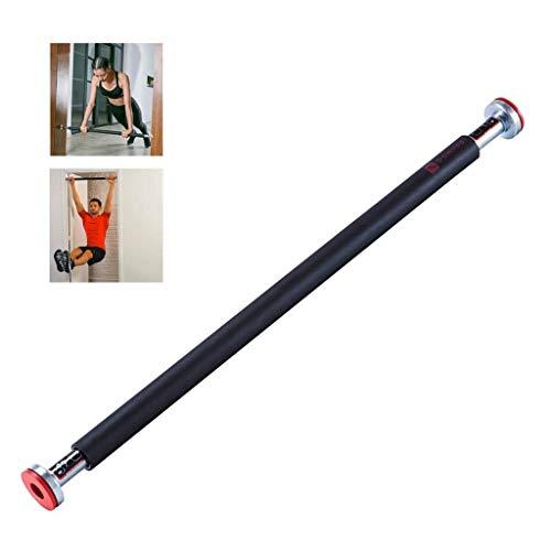 Jszzz Einstellbare Ober Lever Home Fitness Tür Sports Bar Schwer Doorway Oberkörper Fitness Bar (Color : Black, Size : 7095cm)