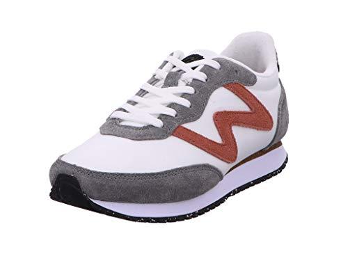 Woden Sneakers Olivia II 40, 645 Autumn Grey/White