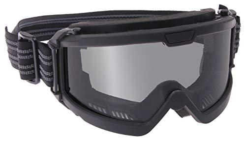 Rothco OTG Ballistic Goggles, Black/Smoke