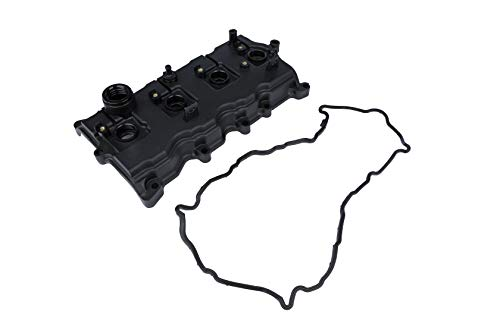 Replacement Engine Valve Cover with Gasket - Compatible with Nissan Altima 2.5L 2007-2012 and Sentra 2007-2012 - Replaces 13264JA00A, 13270JA00A, CNVG-D1230 - Rocker, Camshaft Covers