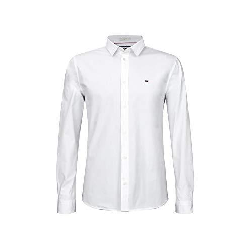Tommy Hilfiger Oxford Shirt Slim Fit (XXL, White)