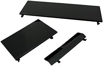 Compatível com conjuntos de capas de porta preta Nintendo Wii 3