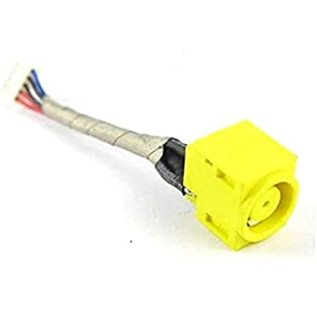 Replacement AC DC Power Jack Socket with Cable Harness for Lenovo Thinkpad X220 X220I X230 X230I Series Laptop
