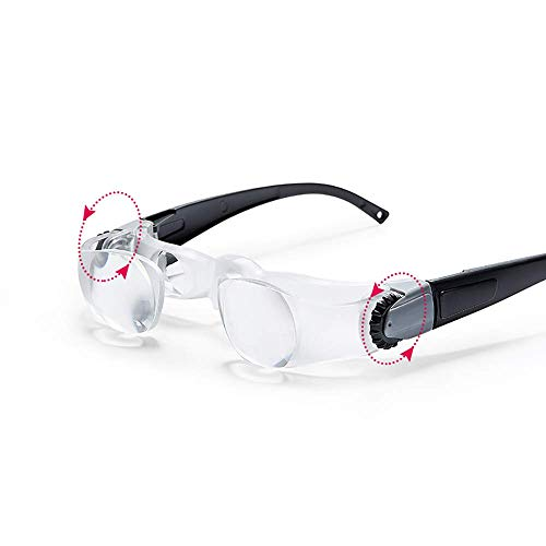 HJJH Eine Lupe zum Fernsehen Brille hochauflösende ältere Menschen Ältere Menschen mit Einer Fernlupe Brillen-Sehhilfe Fischerei-Teleskop