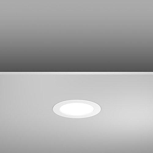RZB Zimmermann LED-Einbaudownlight 901452.002.1.76 4000K DALI Toledo Flat Downlight/Strahler/Flutlicht 4051859065289