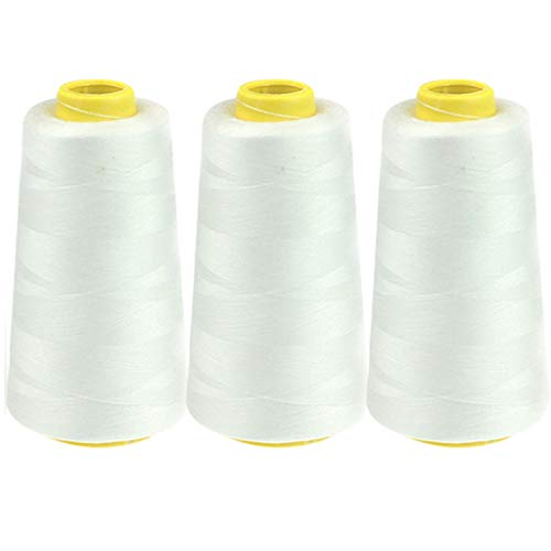 Best Buy! PIKAJIU Polyester Sewing Thread Pagoda Thread 3PC 2300 Yards (G)
