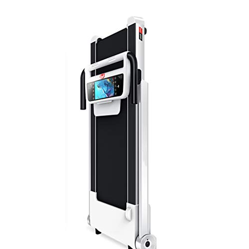 DFLY Cinta De Correr Eléctrica Plegable, 0,8-14 Km/H Máquina Eléctrica Silenciosa para Caminar, Ahorra Espacio, Pantalla LCD, Sistema De Absorción De Choque
