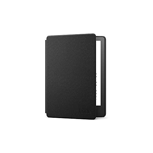 Funda de piel para Kindle Paperwhite de Amazon | Compatible con el Kindle Paperwhite de 11.ª generación (modelo de 2021), Negro
