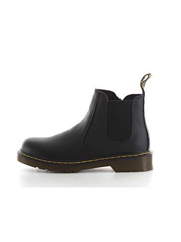 Dr. Martens Kid s Collection 2976 Junior Banzai Chelsea Boot (Little Kid/Big Kid) Black Softy T 13 UK (US 1 Little Kid)