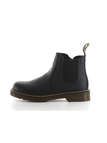 Dr. Martens Kid's Collection 2976 Junior Banzai Chelsea Boot (Little Kid/Big Kid) Black Softy T 11 UK (US 12 Little Kid)