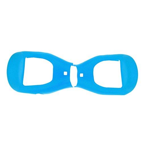 Gazechimp Coque de Protection hoverboard en Silicone Scooter Voiture Auto de 6.5 pouces - Bleu Clair, 6.5pouces