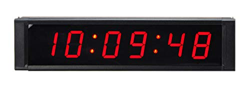 2,5?cm Digital HH: mm: SS rot innen LED Countdown Uhr Count Down/Up Timer Sport Intervall Timer Multifunktions-Uhr/Timer