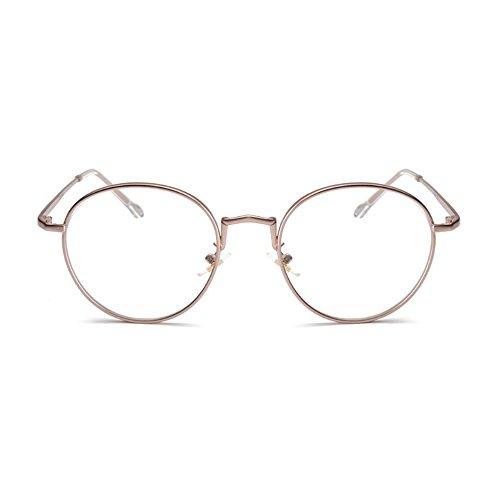 [Lebenslange Garantie] Pink Gold Brillen mit Blaulichtfilter - Hoher Schutz - Gaming Brillen für PC, Handy und Fernseher – Anti-Müdigkeit, Anti-Blaulicht, UV-Schutz