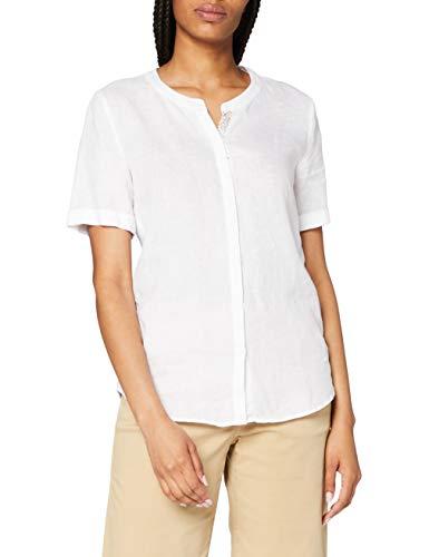 BRAX Damen Style Vania Bluse, White, 38
