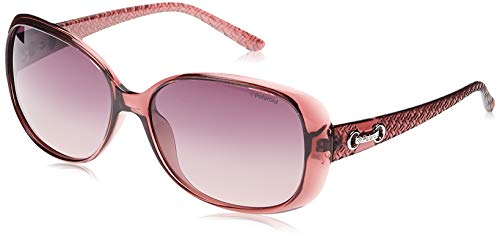 Polaroid P8430 MR C6T Gafas de sol, Morado (Purple/Purple Faded Polarized), 58 para Mujer