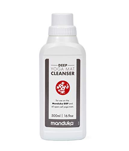 Manduka - Deep Yoga Mat Cleanser Grp e Tutti i tappetini da Yoga a Celle Aperte - 500 ml Tappetino da Yoga Liquido per Hot Yoga