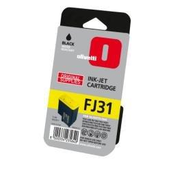 Olivetti 137962 - Cartucho de Tinta para fax, Color Negro