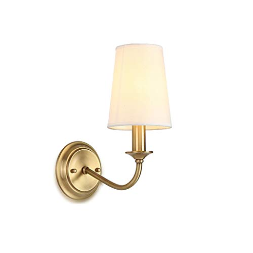 CAIMEI Linternas de Pared Soporte Luz Sala de Estar Comedor Dormitorio Iluminación de Cabecera Pasillo Del Hotel E14 * 1 (Color: Re),Re
