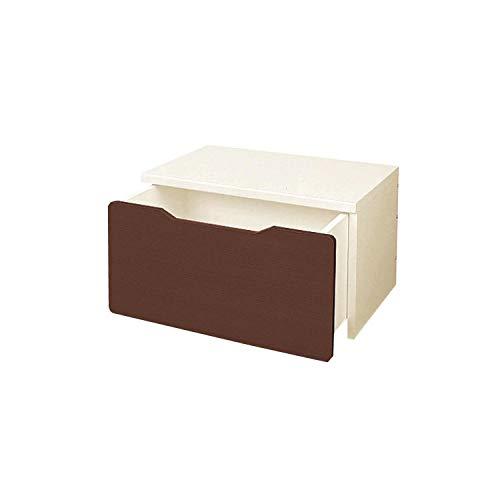 [ベルメゾン] 収納ベンチ おもちゃ 収納 子ども用家具ブラウン 幅約60