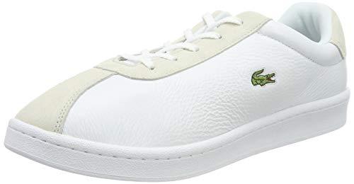 Lacoste Damen Masters 119 2 SFA Sneaker, Weiß (Wht/Off Wht 65t), 37 EU