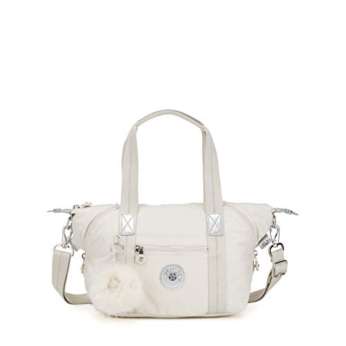 Kipling Art Mini - Borse a secchiello Donna, Bianco (Dazz White)