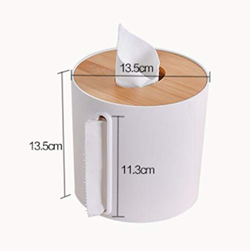 Porte-papier Hygiénique Multifonctionnel Nanmu Boîte À Mouchoirs Salon Maison Créatif Stockage Table Basse (Couleur : B)