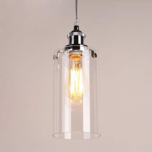 RAQ hanglamp houder helder glas hanglampen tweedehands lamp voor decoratie 01 helder glas.