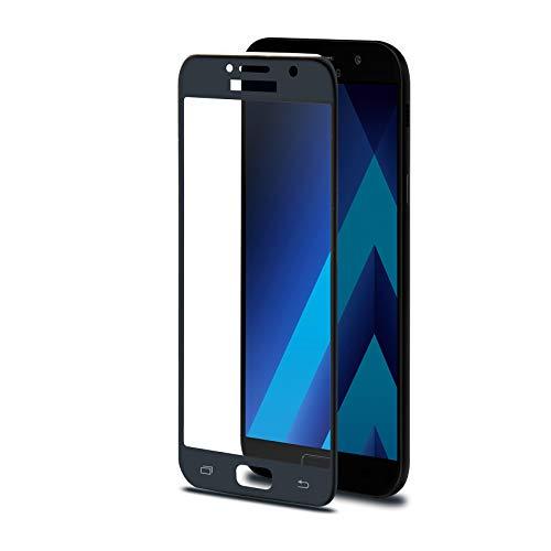 Celly 3DGLASS645BK Protector de Pantalla 3D Glass para Samsung Galaxy A5 2017,...