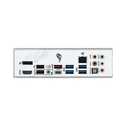 ASUS ROG STRIX Z490-A Gaming, Scheda Madre Gaming Intel Z490 LGA1200 ATX, 14 Fasi di Potenza, AI Overclocking, AI Cooling, AI Networking, Intel 2.5 Gb Ethernet, USB 3.2 Gen 2, SATA e AURA Sync RGB