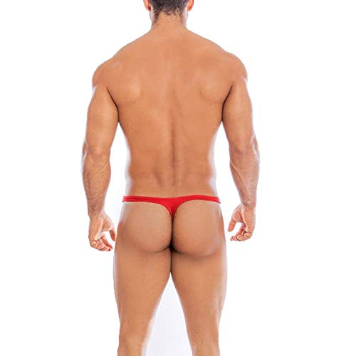 AAYAN BABY Men's Thong Unique, Comfort and Colourful Red Large Size