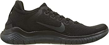 Nike Free Rn 2018 Sz 12 Womens Running Black/Anthracite Shoes