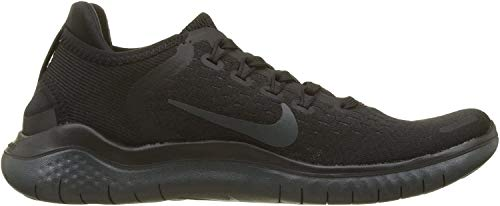 Nike Free Rn 2018 Sz 9 Womens Running Black/Anthracite Shoes