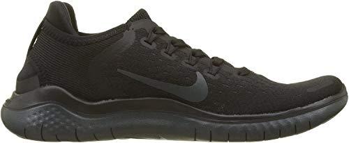 Nike Damen WMNS Free RN 2018 Sneakers, Schwarz (Black/Anthracite 002), 39 EU