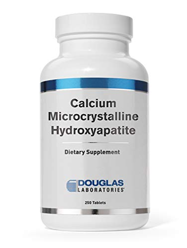 Douglas Laboratories - Calcium Microcrystalline Hydroxyapatite - Bioavailable Source of Calcium Derived from Whole Bone - 250 Tablets