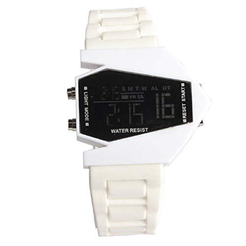 Armbanduhr LANOWO FüR MäNner MäDchen Silikon LED Licht Digital Sportuhr BK Verkaufen Sich Wie Warme Semmeln Watch