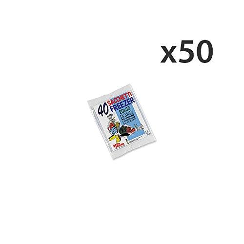 Set 50 kraan freezer zakjes 20 x 35 x 40 stuks container voor de keuken