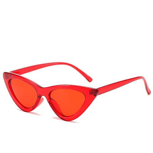 IRCATH Adecuado para Ciclismo, conducción de Fiesta en la Playa y Senderismo Gafas de Sol con Forma de Ojo de Gato para Mujer-C2
