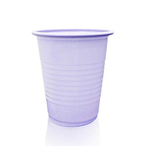 Safe-Dent Disposable 5 oz Plastic Medical Dental Cups 1000 Count (Lavender)