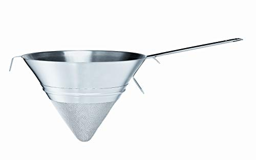 RÖSLE Gastro Gaze Sieb, Edelstahl 18/10, Ø 25 cm, seitlicher Griff, spülmaschinengeeignet