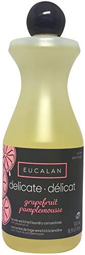 Eucalan 666884500472 pflegendes Feinwaschmittel, Grapefruit, 500 ml für Handwäsche