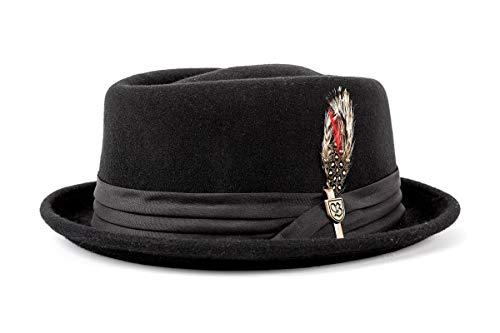 Brixton Hat STOUT black/black, S BRIMHATSTO
