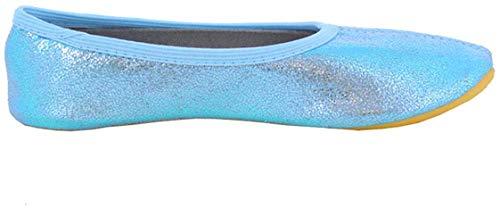 Beck Mädchen Basic Gymnastikschuhe, Blau (Hellblau 04), 27 EU