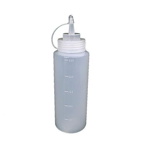 Ogquaton 16 oz Squeeze Bottiglie con ugelli Top Dispenser per casa Ristorante Ketchup Senf Mayo Dressings Olio di Oliva Sale