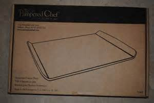Pampered Chef Stoneware Cookie Sheet