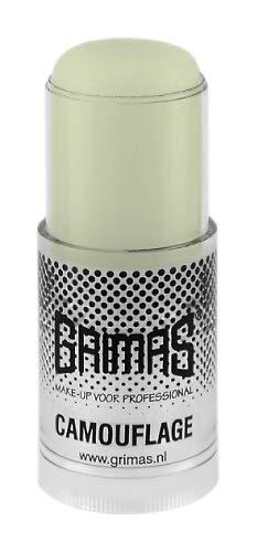 GRIMAS Camouflage Stick PURE | Farbe 408 Hellgrün | 24 ml | Stark Deckender Profi Concealer Abdeckstift